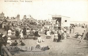 The beach, Withernsea 1921