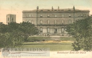 Convalescent Home and Church, Withernsea 1900