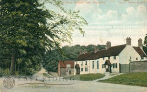 village street and Altisidora from east, Bishop Burton 1900