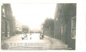 Village and children, Aldbrough c.1900s
