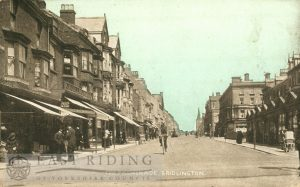 The Promenade, Bridlington 1907, tinted