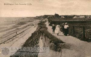 Sewerby cliff path, Bridlington 1910