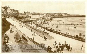Bridlington Spa and sands, Bridlington 1954