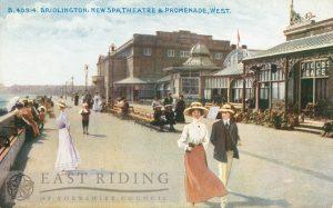 Bridlington Spa and Spa Theatre, Bridlington 1907, tinted
