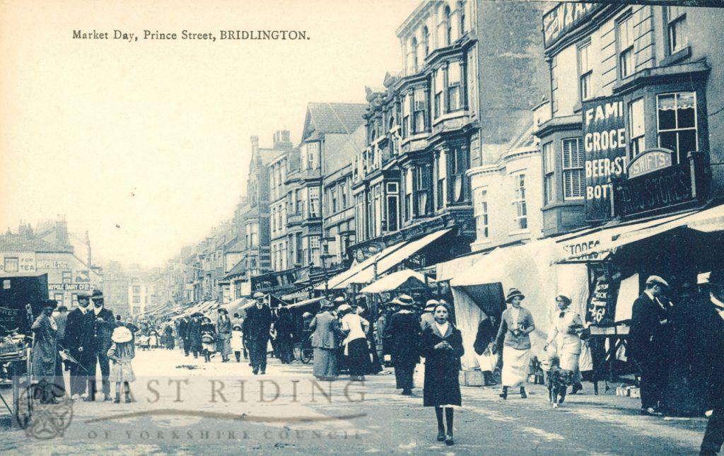 Prince Street, Bridlington 1900s