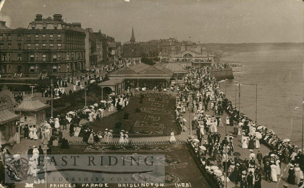 Princes Parade from south, Bridlington 1914