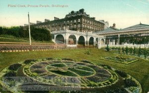 Princes Parade – Floral Clock, Bridlington 1914, tinted
