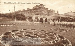 Princes Parade – Floral Clock, Bridlington 1921
