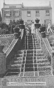 Princes Parade – Floral Staircase, Bridlington 1927