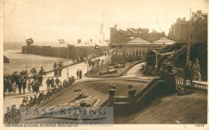 Princes Parade and Floral Staircase, Bridlington 1932