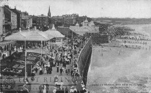 Princes Parade and Grand Pavilion, Bridlington 1907