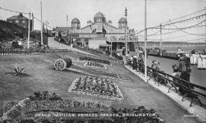 Princes Parade and Grand Pavilion, Bridlington 1914