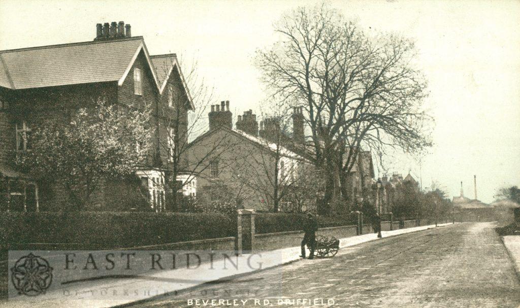 Beverley Road, Driffield, looking east