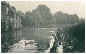 Floods – Mill Street, Driffield 20th May 1910