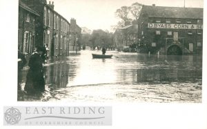 Floods – River Head, Driffield 20th May 1910