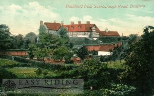 Highfield from Scarborough Road, Driffield