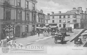 Market Place from south east, Driffield