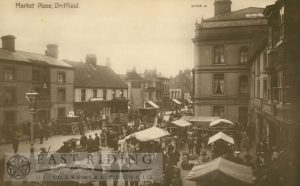 Market Place from north west, Driffield