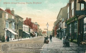 Middle Street looking south, Driffield (tinted)
