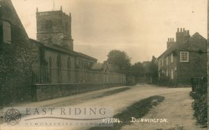 St Nicholas Church and Church Street, Dunnington