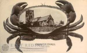 All Saints Church, Easington (with 'crab' frame)