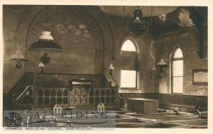 Wesleyan Chapel, interior, Eastrington
