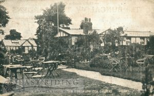 The Bungalow Tea Gardens, Anlaby 1920