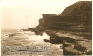 Cliffs from the caves, Filey