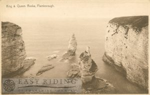 King and Queen's Rocks, Flamborough 1939