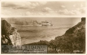 SS Yorkshireman off Flamborough cliffs, Flamborough 1937