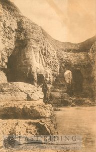 Thornwick Cave, Flamborough 1910s
