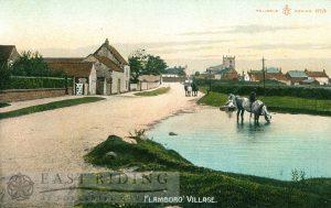 Village, Flamborough c.1900s, tinted