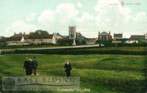 Village, Flamborough 1910, tinted