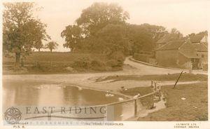 The pond, Foxholes   1930s
