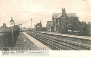 Railway Station, Bainton 1900