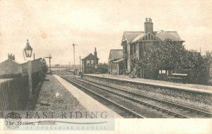 Railway Station, Bainton 1905