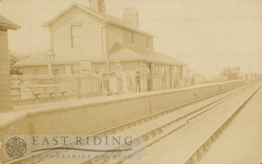 Railway Station, Hedon 1900s