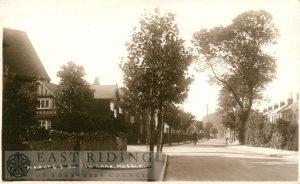 Barrow Lane, Hessle 1930
