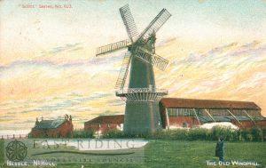 Hessle Mill, Hessle 1906, tinted
