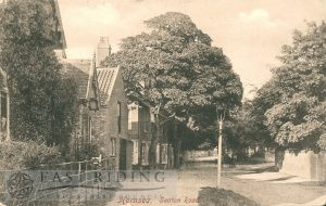 Seaton Road from west, Hornsea  1904