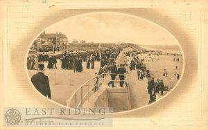 Sea Wall, Hornsea  1913