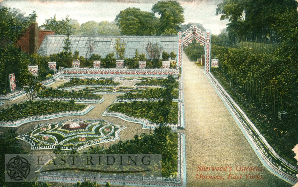 Sherwood's Gardens, Hornsea  1910