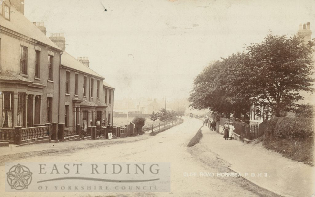 Cliff Road, Hornsea  1904