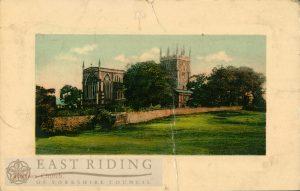 St Nicholas Church from north east, Hornsea 1909