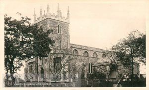 St Nicholas Church from south west, Hornsea 1930