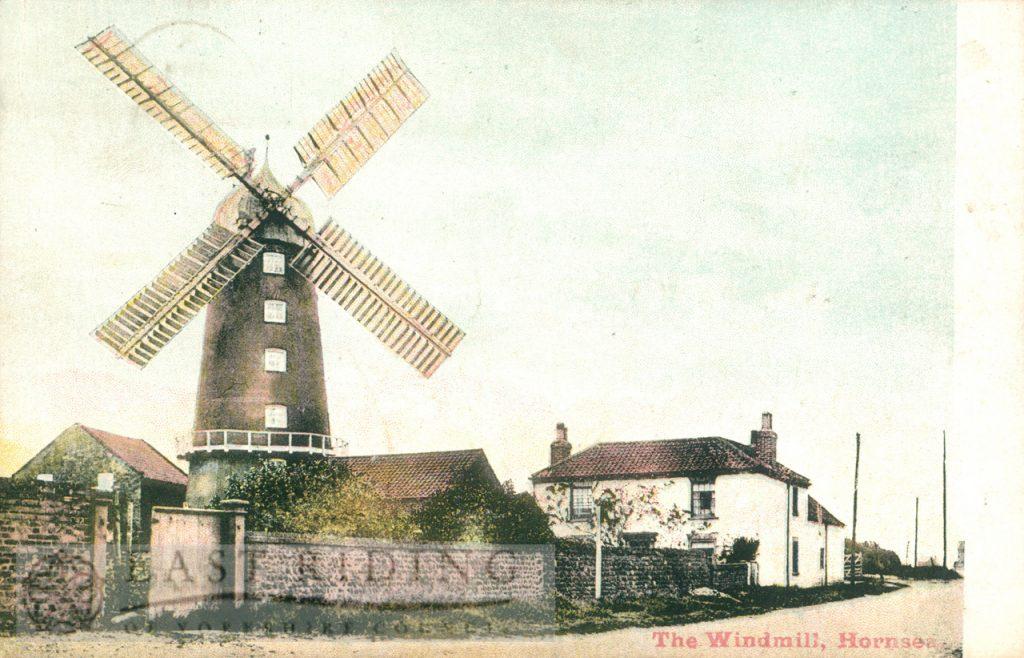 windmill, Hornsea 1906