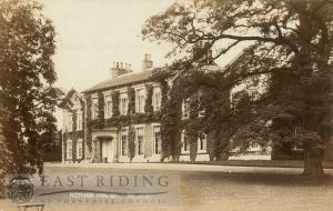 Hotham House, south front, Hotham 1910