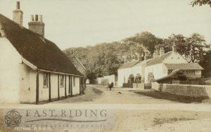 village street, Hotham 1910