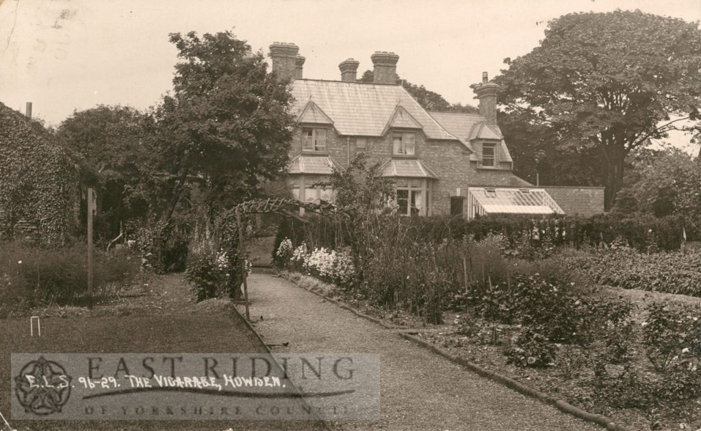 the vicarage, Howden 1913