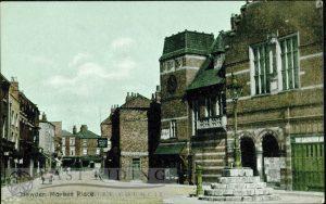 Market Place, Howden  1900